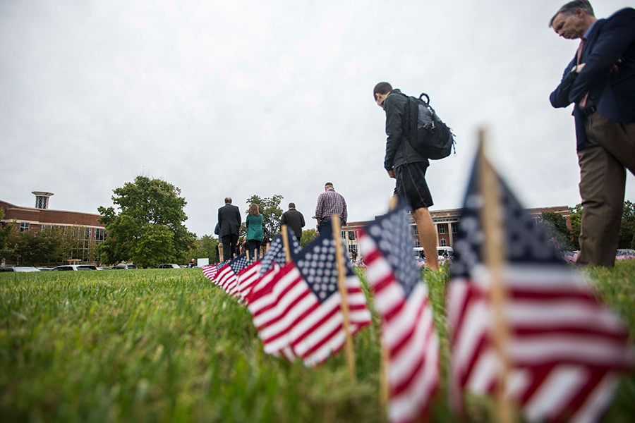 We are proud to serve veterans on campus.